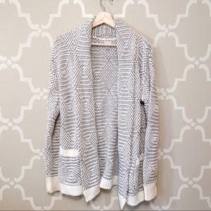 A New Day Chunky Knit White Cardigan
